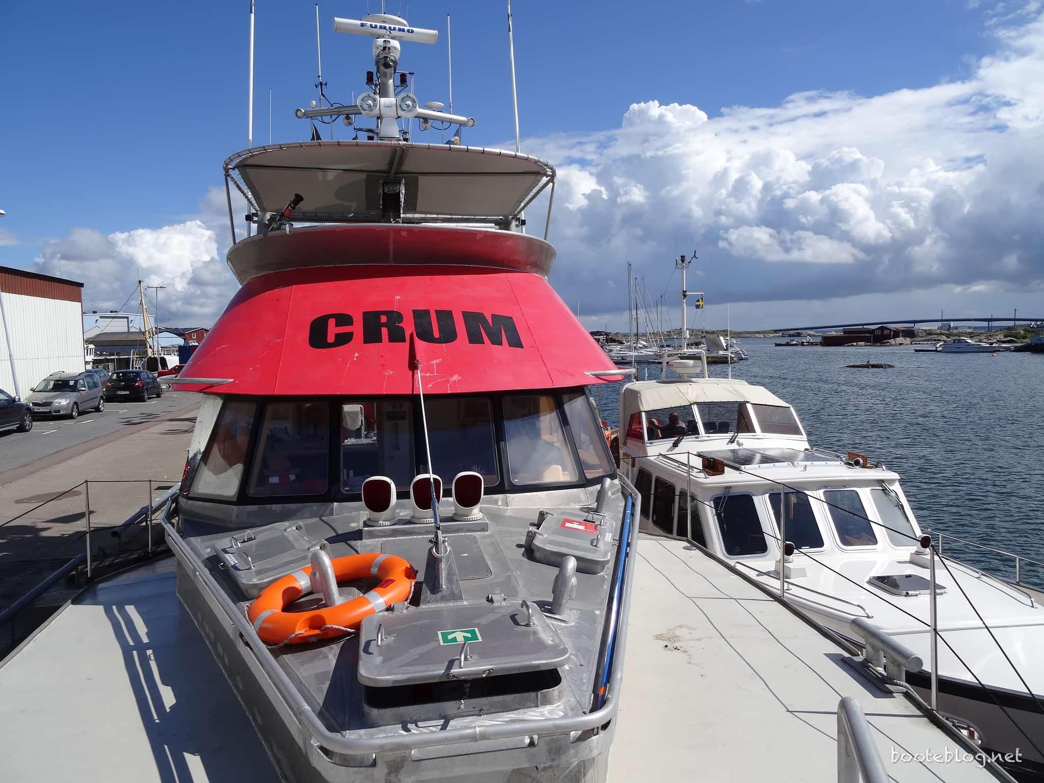 M/V CRUM: Ein Schiff für Bedingungen, die kaum vorstellbar sind.
